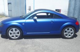 AUDI TT BLUE AND SHADOW