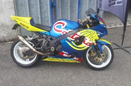 SUZUKI GSXR 1000 TEAM COTTARD AS96 REPLICA